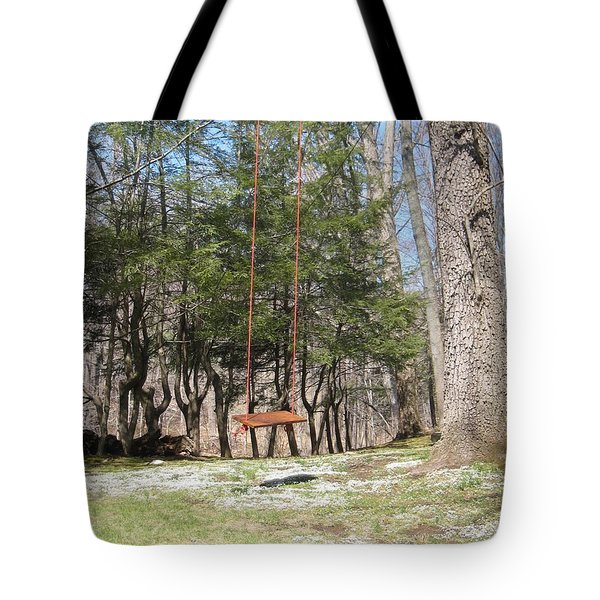 Rope Swing Tote Bag