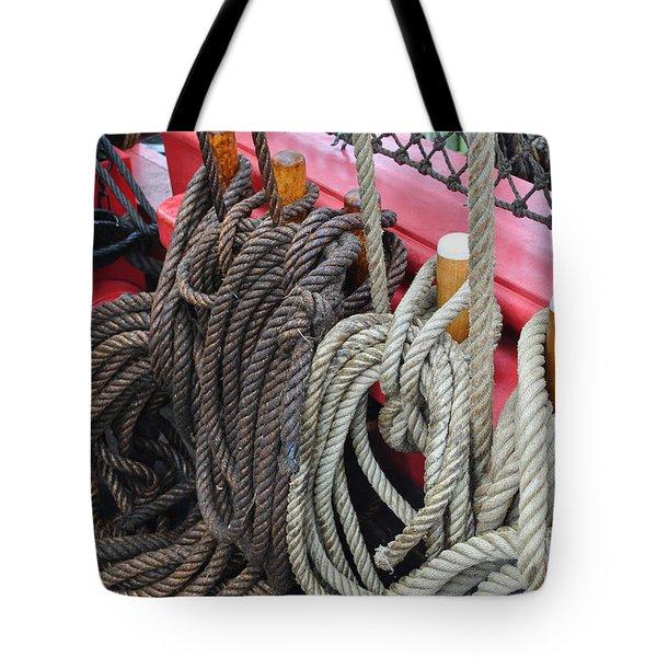 Rope Tie Tote Bag