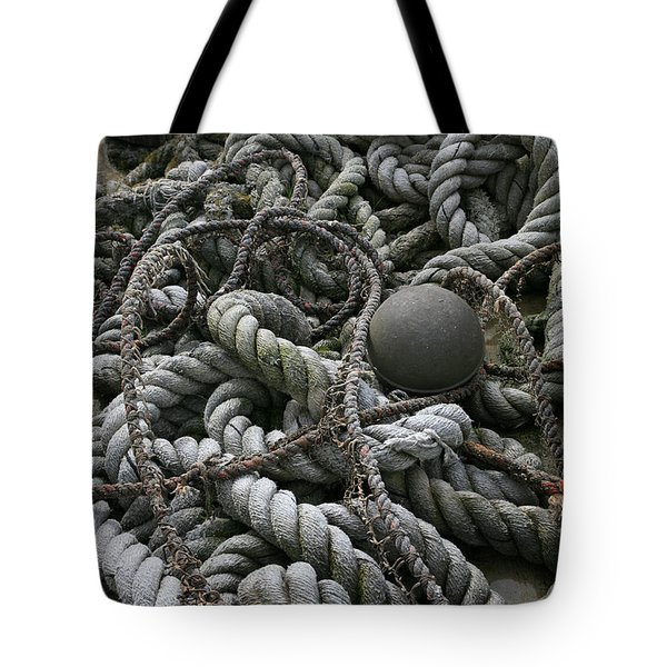 Ropes And Lines Tote Bag