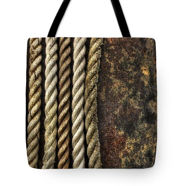 Ropes Tote Bag