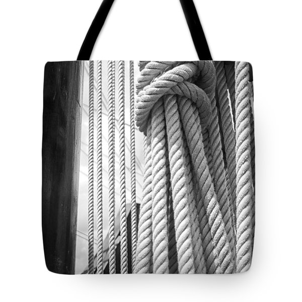 Ropes From The Past Tote Bag