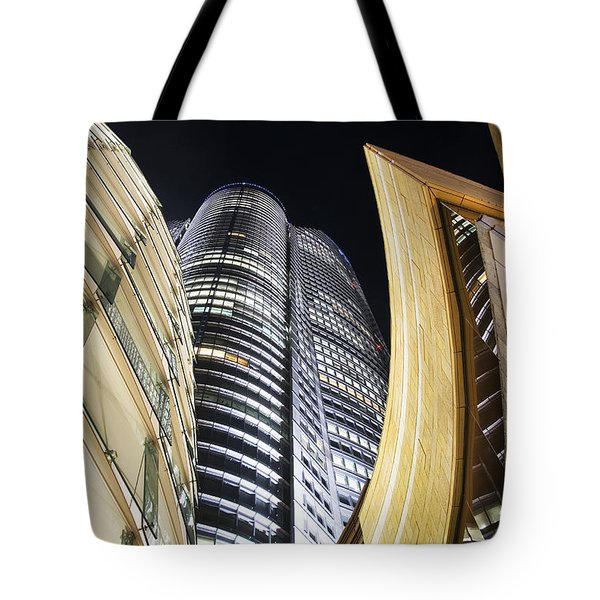 Roppongi Hills Mori Tower Tote Bag by Bill Brennan - Printscapes