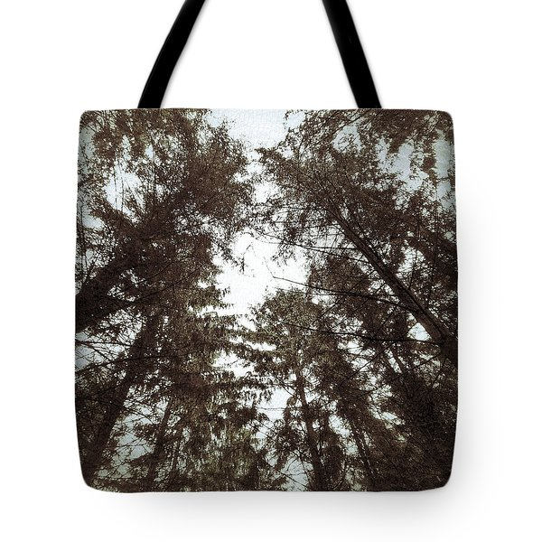 Rorschach Trees Tote Bag by Karen Stahlros