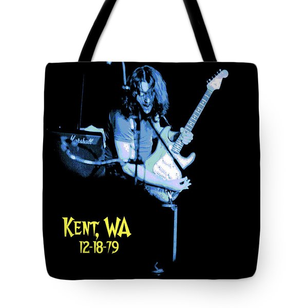 Tote Bag featuring the photograph Rory Kent Blues by Ben Upham