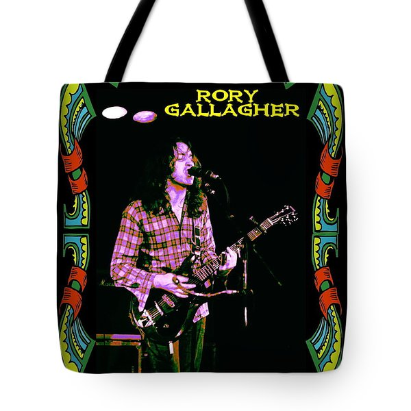 Rory Messin' With The Kid 2 Tote Bag by Ben Upham