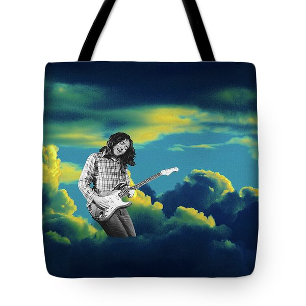 Tote Bag featuring the photograph Rory Morning Sun by Ben Upham