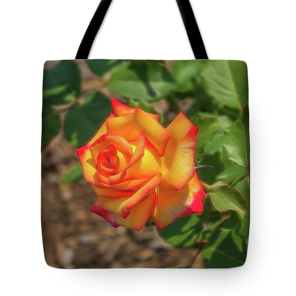 Rosa Peace Tote Bag