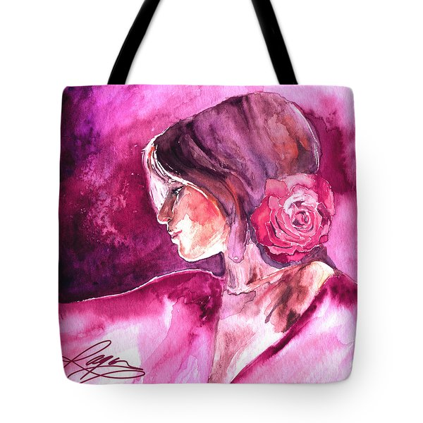 Rosa Tote Bag by Ragen Mendenhall