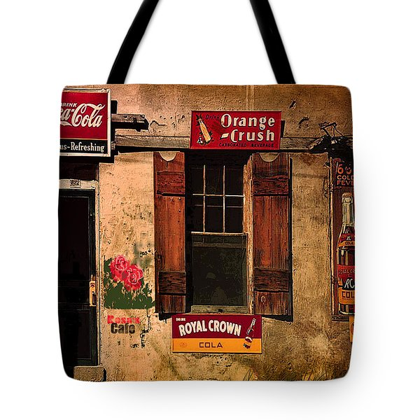 Rosas Cafe Tote Bag by J Griff Griffin