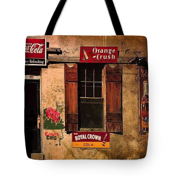 Rosas Cafe Tote Bag