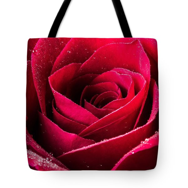Rose After The Rain Tote Bag