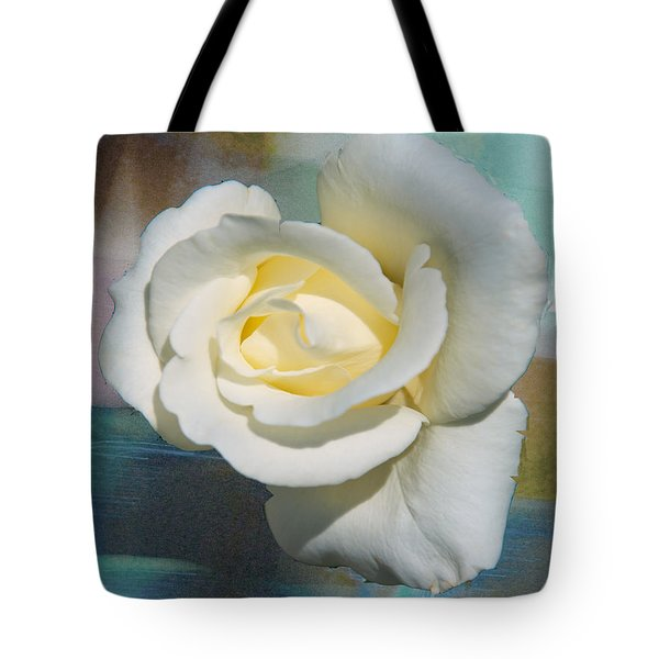 Rose And Lights Tote Bag