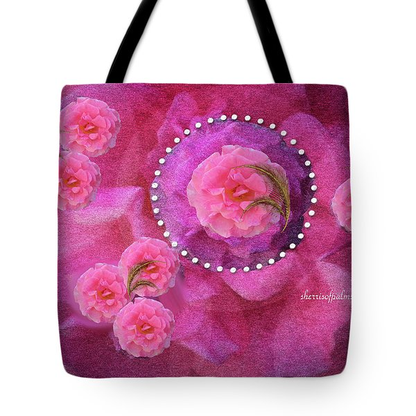 Rose Art A Rose Is Given With Love Tote Bag