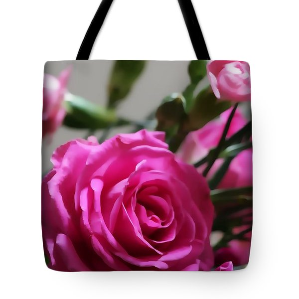 Rose Bloom Tote Bag