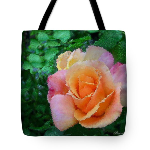 Tote Bag featuring the photograph Rose by Bonnie Willis
