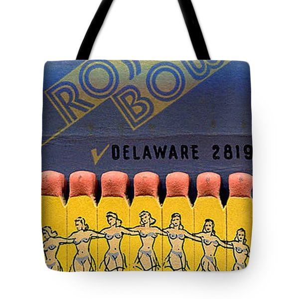 Tote Bag featuring the digital art Rose Bowl Chicago Matches by Reinvintaged