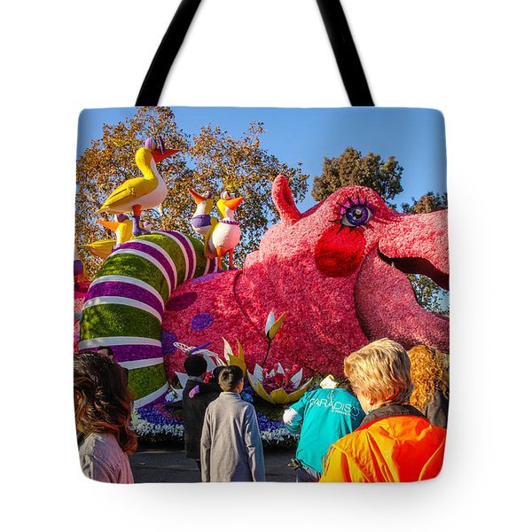 Tote Bag featuring the photograph Rose Bowl Parade by Robert Hebert