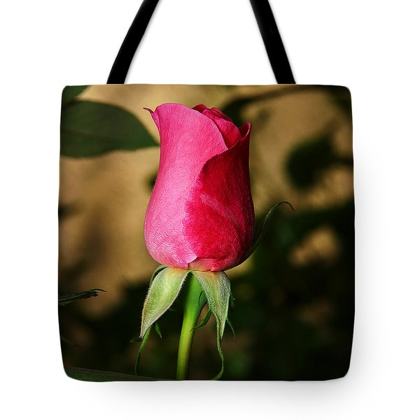 Rose Bud Tote Bag by Anthony Jones