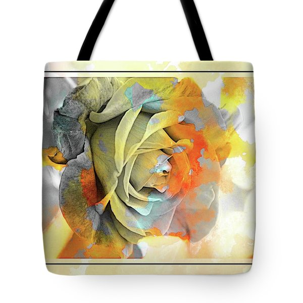 Tote Bag featuring the photograph Rose Bud by Athala Carole Bruckner