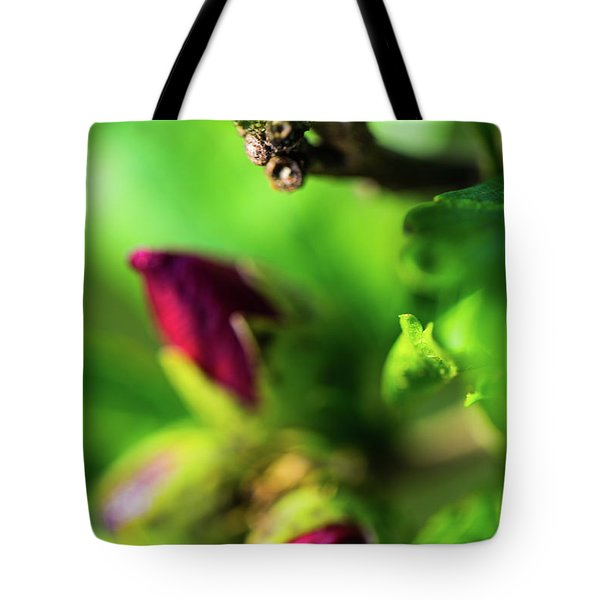 Rose Buds Body Guard Tote Bag