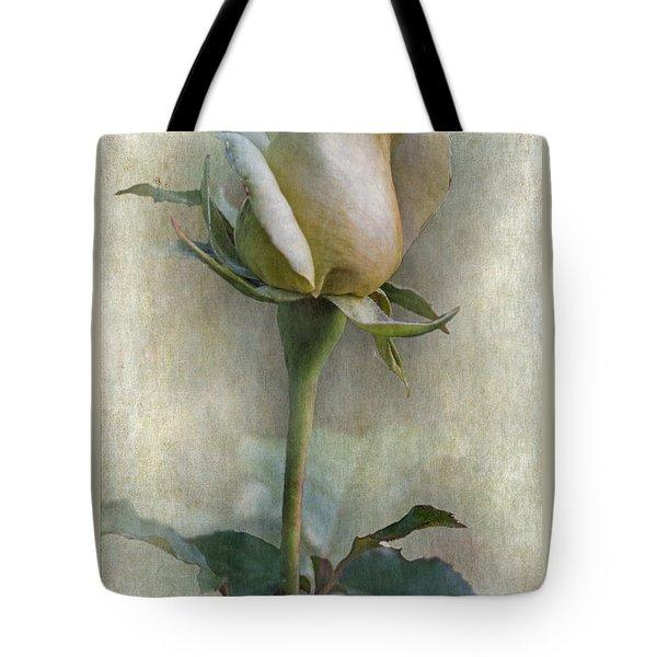 Rose Bud Tote Bag by Angie Vogel