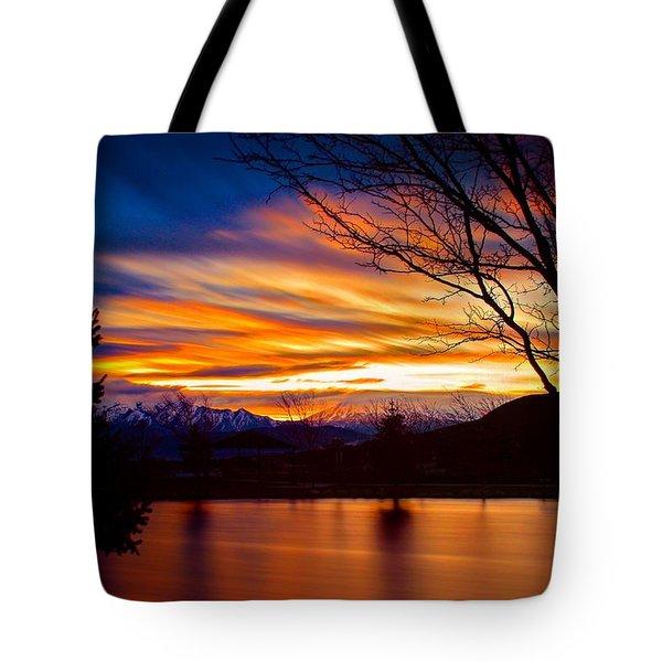 Rose Canyon Dawning Tote Bag