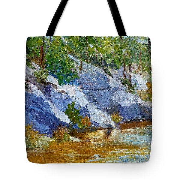 Rose Canyon Lake Tote Bag
