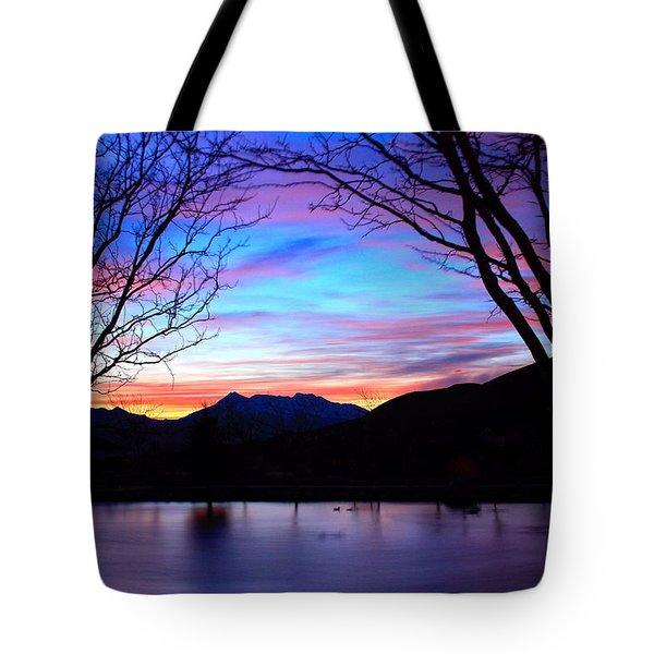 Rose Canyon Tote Bag