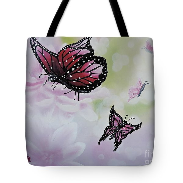 Rose Colored Glasses Tote Bag by Dianna Lewis