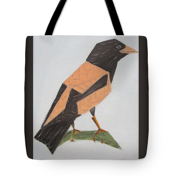 Rose-coloured Starling Tote Bag