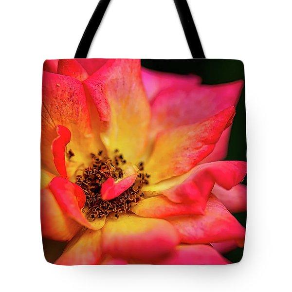 Rose Corolla Tote Bag