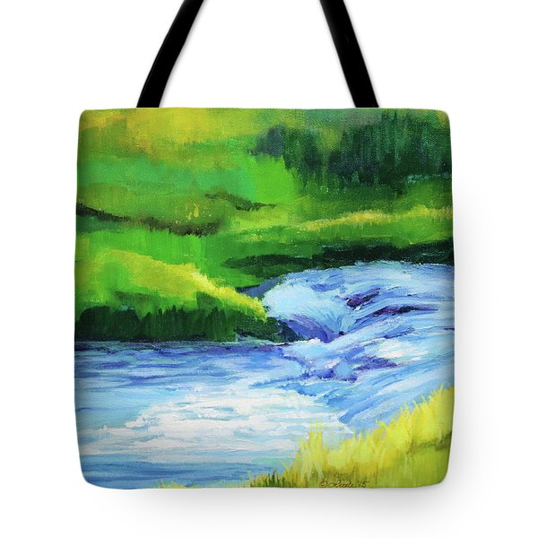 Rose Creek Summer Tote Bag