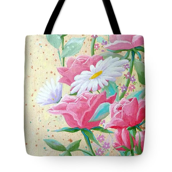 Rose Diptych 2  Tote Bag