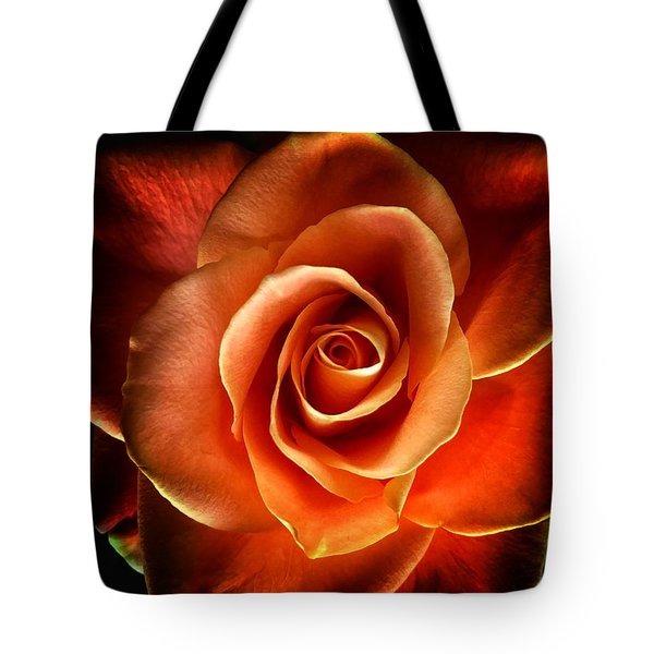 Tote Bag featuring the photograph Rose by Donald Paczynski