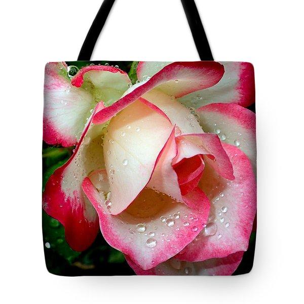Rose Drops Tote Bag