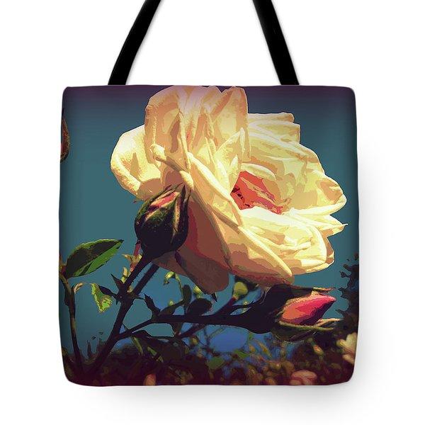Rose Facing The Sun Tote Bag
