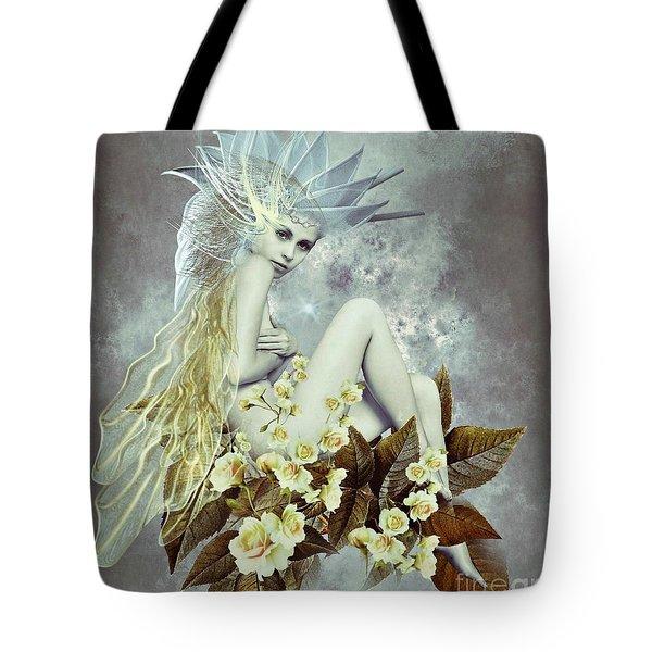 Rose Fairy Tote Bag by Ali Oppy