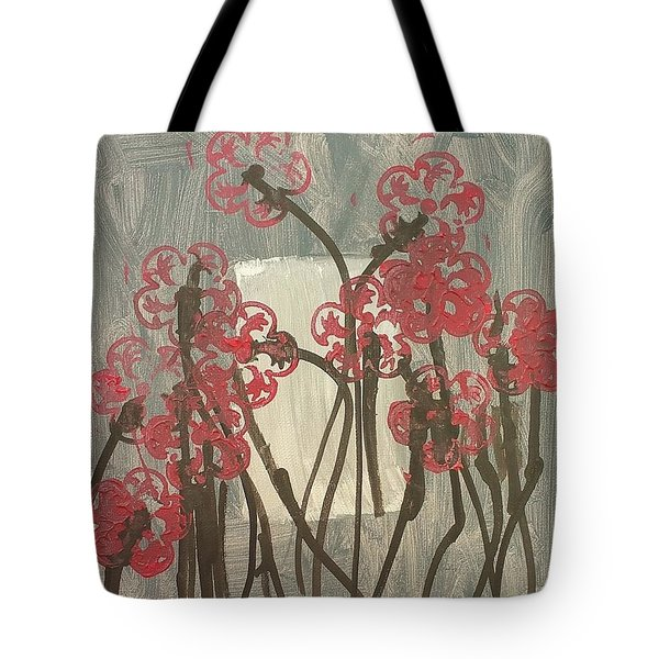 Rose Field Tote Bag