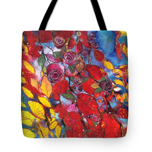 Rose Garden Tote Bag by Alessandro Andreuccetti