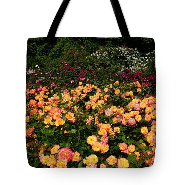 Tote Bag featuring the photograph Rose Garden  by Diane Lent