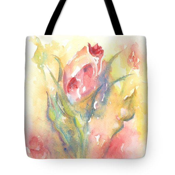 Rose Garden One Tote Bag