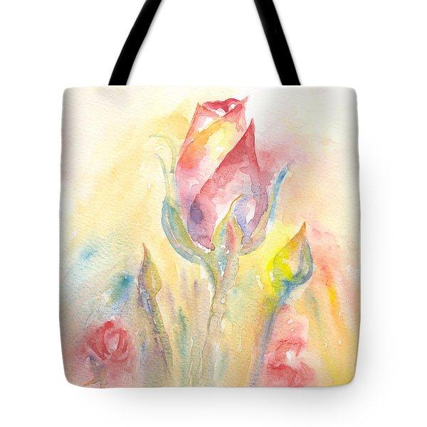 Rose Garden Two Tote Bag