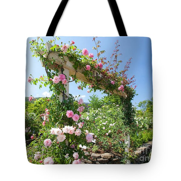 Rose Gate Tote Bag by Aiolos Greek Collections