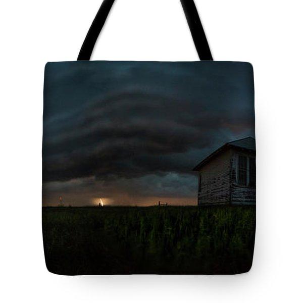 Rose Hill Storm  Tote Bag