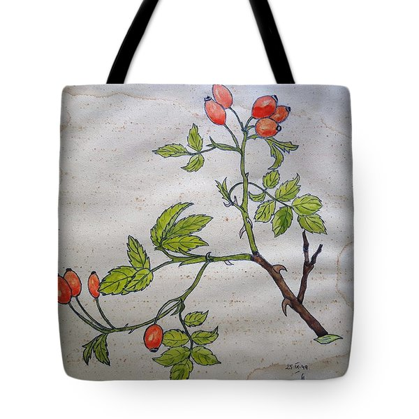 Rose Hip Tote Bag