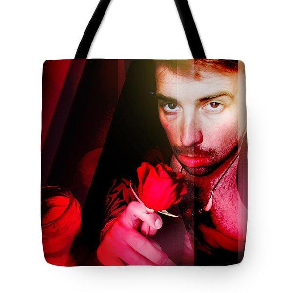 Rose Human Tote Bag