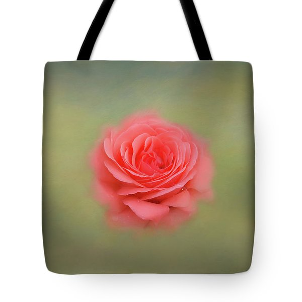 Tote Bag featuring the photograph Rose Impressions by Kim Hojnacki