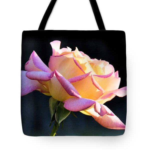 Rose In Sunshine Tote Bag by Josephine Buschman