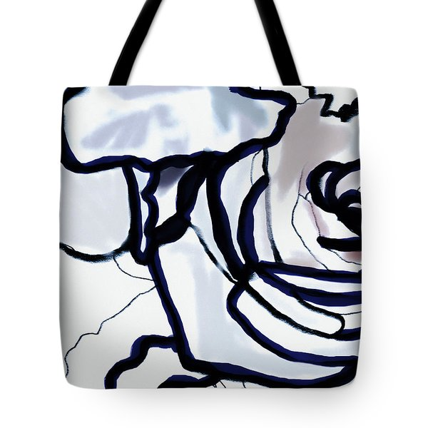 Downturn Tote Bag
