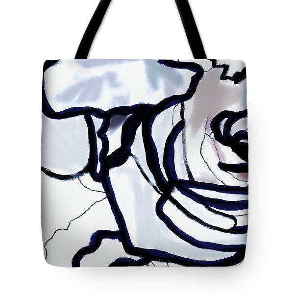 Downturn Tote Bag